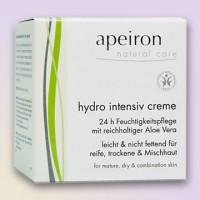 Veido kremas sausai odai, Apeiron, 50 ml