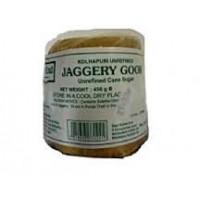Nerafinuotas palmių cukrus Jaggery Goor, East End, 450g