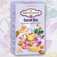 Arbatų rinkinys Secret Box, Shoti Maa Tea, 12 pakelių