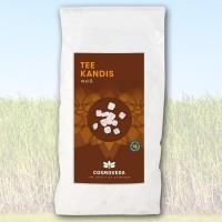 """Ajurvedinis kristalinis cukrus """"Tea kandis"""", Cosmoveda, 400 g"""
