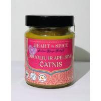 Obuolių ir apelsinų čatnis, Hearth&Spice, 275ml