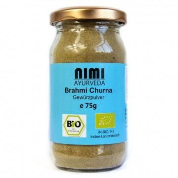 Brahmi (mėlynžiedės taškuonės) milteliai, ekologiški, Nimi Ayurveda, 75g