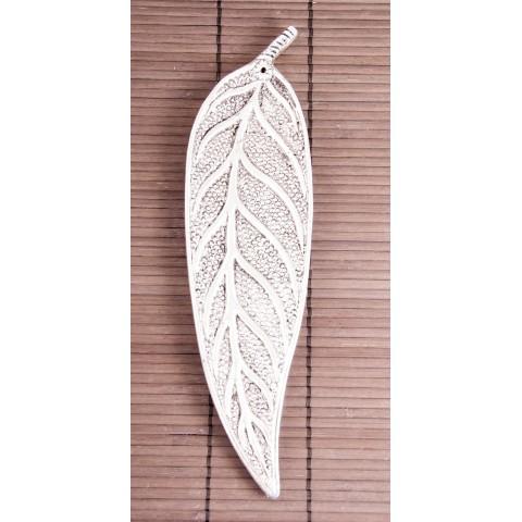 """Smilkalų lazdelių laikiklis """"Buko lapas"""", aliuminis, 24cm"""