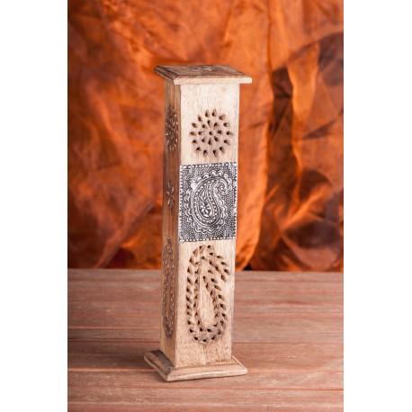 """Smilkalų laikiklis-bokštas """"Art"""" su žalvario emblema"""