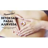 Efektyvus organizmo valymas pagal ajurvedą per 7 dienas