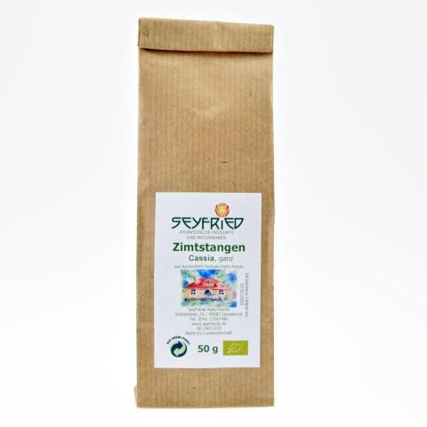Cinamono lazdelės (Cassia), ekologiškos, Seyfried, 50 g