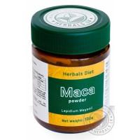Peruvinės pipirnės Maca šaknies milteliai, Herbals Diet, 100g