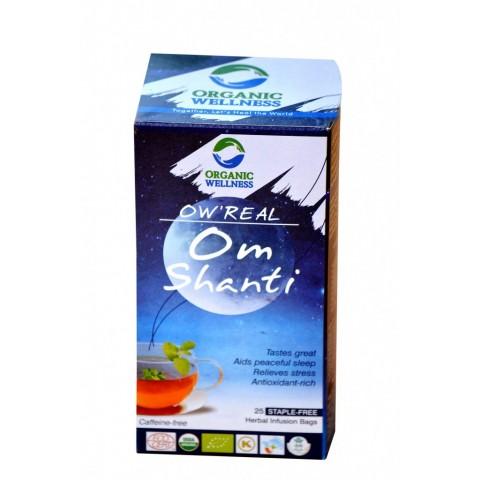 Raminanti žolelių ir lapų arbata OM SHANTI, ekologiška, OW'REAL, 25 pakeliai