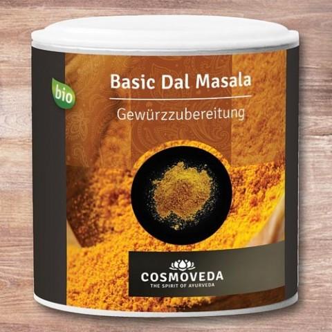 """Prieskonių mišinys pupuolėms ir ankštiniams """"Dal Masala"""", ekologiškas, Cosmoveda, 80 g"""