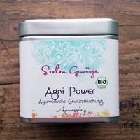 Prieskonių mišinys virškinimui Agni Power, Ayurveggie, ekologiškas, 50 g