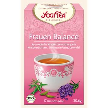 """Prieskoninė arbata moterims """"Women's Balance"""", Yogi Tea, 17 pakelių"""