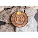 """Smilkalų lazdelių/kūgių laikiklis """"Saulė/Mėnulis"""", medinis, 10cm"""