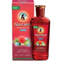 Ajurvedinis plaukų aliejus Navratna, 300 ml