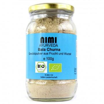 Širdžialapės sidos (Bala Indian Mallow) milteliai, ekologiški, Nimi Ayurveda, 100g