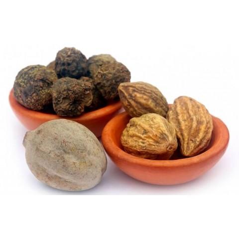 Triphala (trifala) mišinys, milteliai, ekologiškas, Nimi Ayurveda