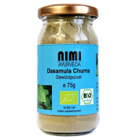 Dashamula (dasamula, dashamoola) žolelių mišinys milteliais, Nimi Ayurveda, 75g
