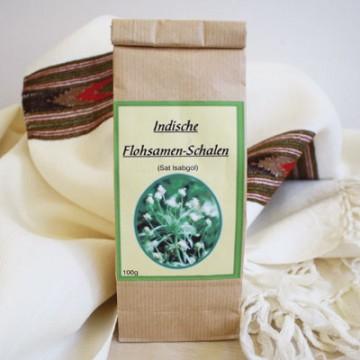Balkšvojo gysločio (Psyllium husk) sėklų luobelės Sat Isabgol, Natura Medica,100g