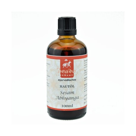 """Ajurvedinis masažo aliejus """"Abyanga"""", 100 ml"""
