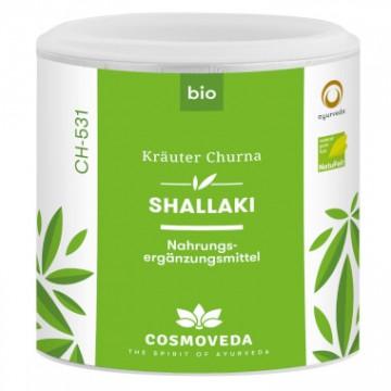 Shallaki (Pluoštinė bosvelija) milteliai, ekologiški, 100 g