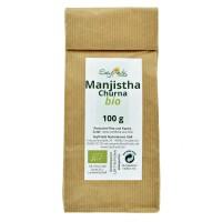 Manjistha (širdžialapės raudės) milteliai,  ekologiški, Seyfrieds, 100 g