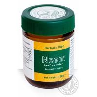 Nimbamedžio milteliai Neem (Nimba), Herbals Diet, 100g