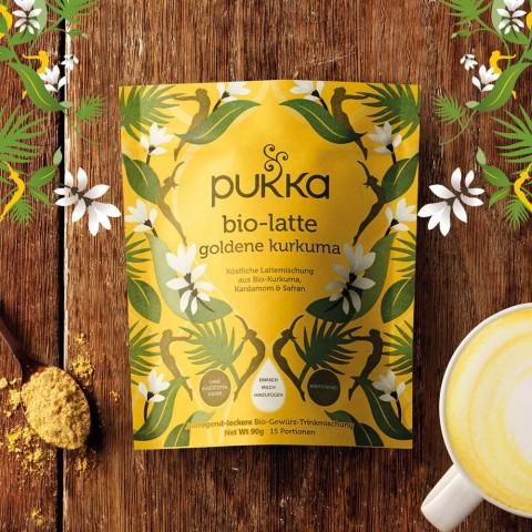 Turmeric Gold Pukka Organic Latte, 90 g