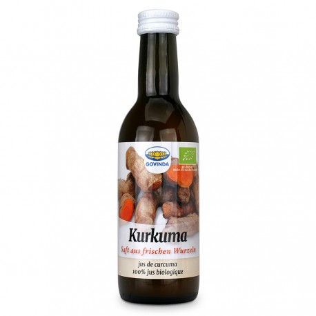 Ekologiškos ciberžolės sultys (Curcuma Juice), Govinda, 250 ml