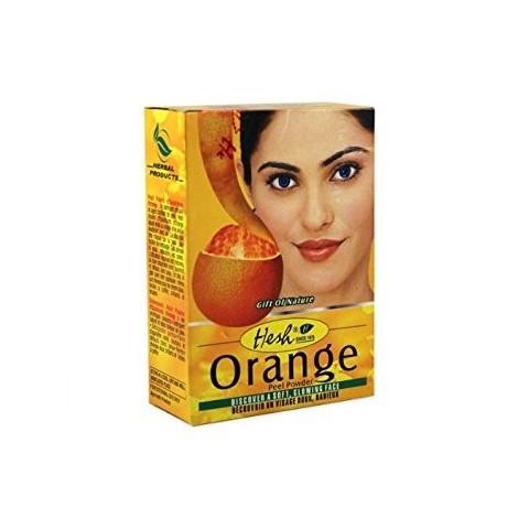 Augalinė veido kaukė Orange, Hesh, 100g