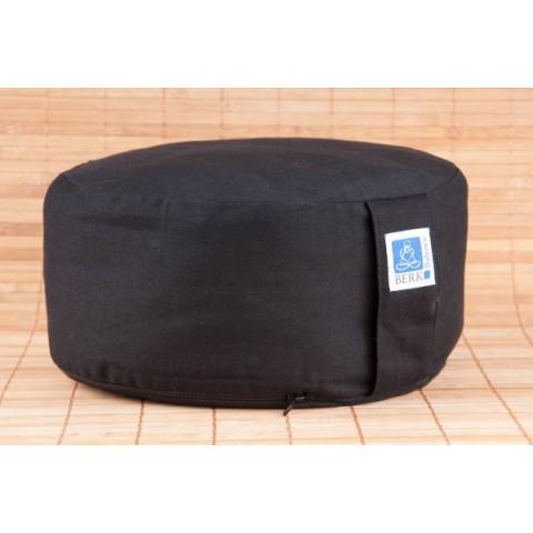 Meditacinė pagalvė, juoda, su kapoko užpildu