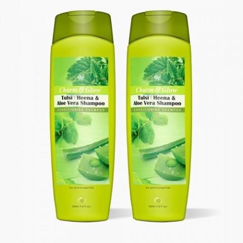 Plaukų šampūnas ir kondicionierius Sharm & Glow, 350ml