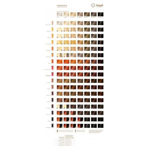 Augaliniai auksinės vario spalvos plaukų dažai, Khadi Naturprodukte, 100g
