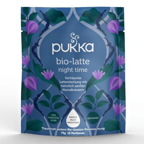 Night Pukka Organic Latte, 75 g