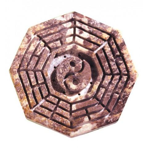 """Akmeninis smilkalų laikiklis """"Ba Gua"""", ⌀9,5 cm"""