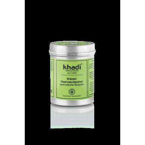 Natūralūs žolelių milteliai plaukams, Khadi Naturprodukte, 150g