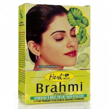 Augalinis plaukų kondicionierius milteliais Brahmi Hesh, 100g