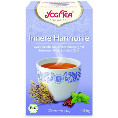 """Prieskoninė ajurvedinė arbata su  """"Vidinė ramybė"""", ekologiška, Yogi Tea, 17 pakelių"""