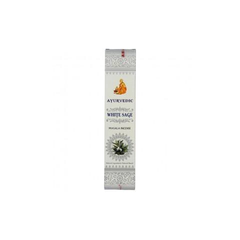 Smilkalų lazdelės Baltasis šalavijas, Ayurvedic,15 g