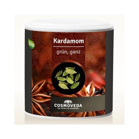 Kardamonas žaliasis (tikrasis), nesmulkintas, ekologiškas, Cosmoveda, 70g