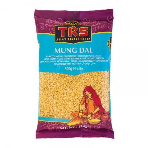 Skaldytos spindulinės pupuolės (mung dal), TRS, 500g