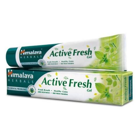 Gaivinanti dantų pasta ACTIVE FRESH, Himalaya Herbals, 80 g