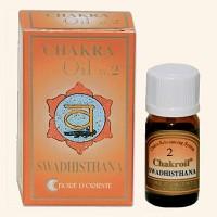 Swadhistana čakros aliejus Fiore D'Oriente, 10 ml.