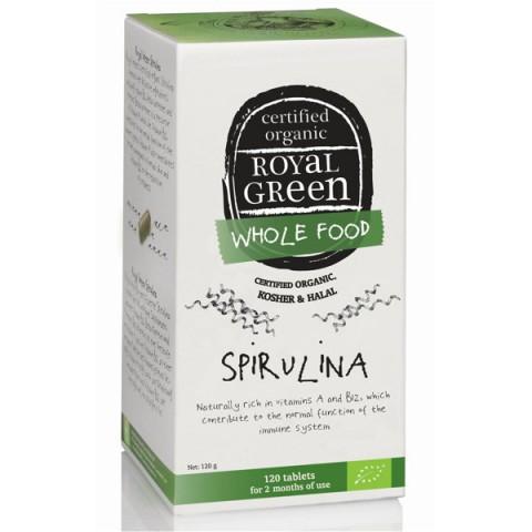 Maisto papildas BIO Spirulina, Royal Green