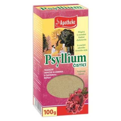 Balkšvojo gysločio (Psyllium husk) sėklų luobelės su juodaisiais serbentais ir raudonuoju buroku, Apotheke