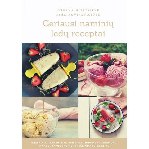 """Elektroninė knyga """"Naminių ledų receptai"""""""