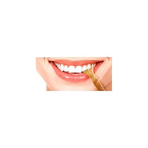 Natūralus dantų šepetėlis iš medžio šaknies Miswak Natural Toothbrush + dėkliukas, 15 cm