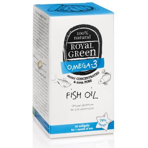 Maisto papildas Žuvų taukai Omega-3, Royal Green