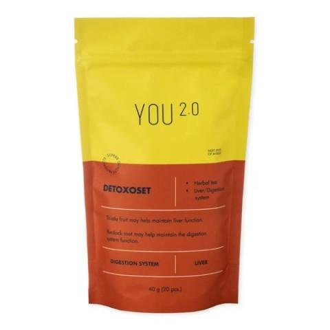 Detoxoset žolelių arbata YOU 2.0, 40 g (20 pakelių)