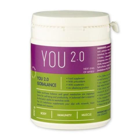 Šarminantys milteliai Isobalance, YOU 2.0, 300 g
