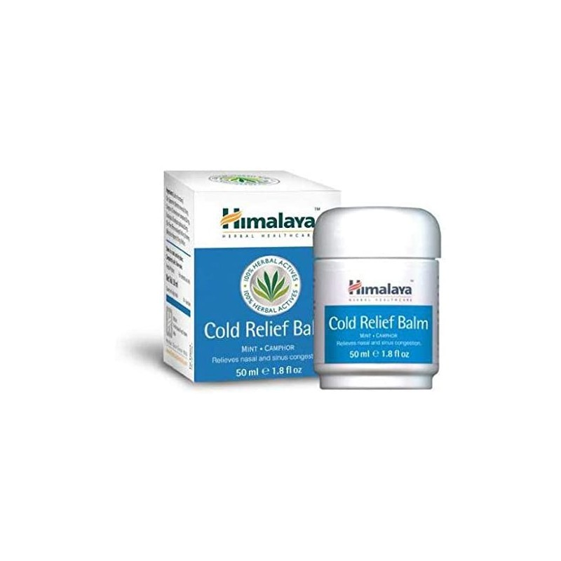 Balzamas Cold Relief Balm, Himalaya, 50 ml