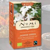 Jazminų arbata Numi Tea, ekologiška, 18 pakelių